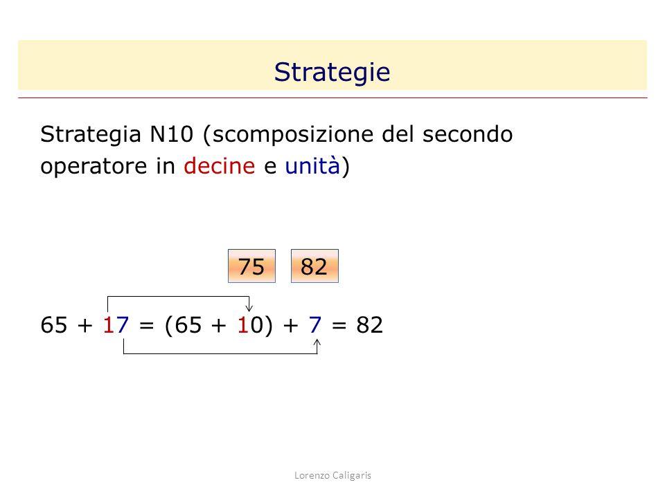 Strategie Strategia N10 (scomposizione del secondo