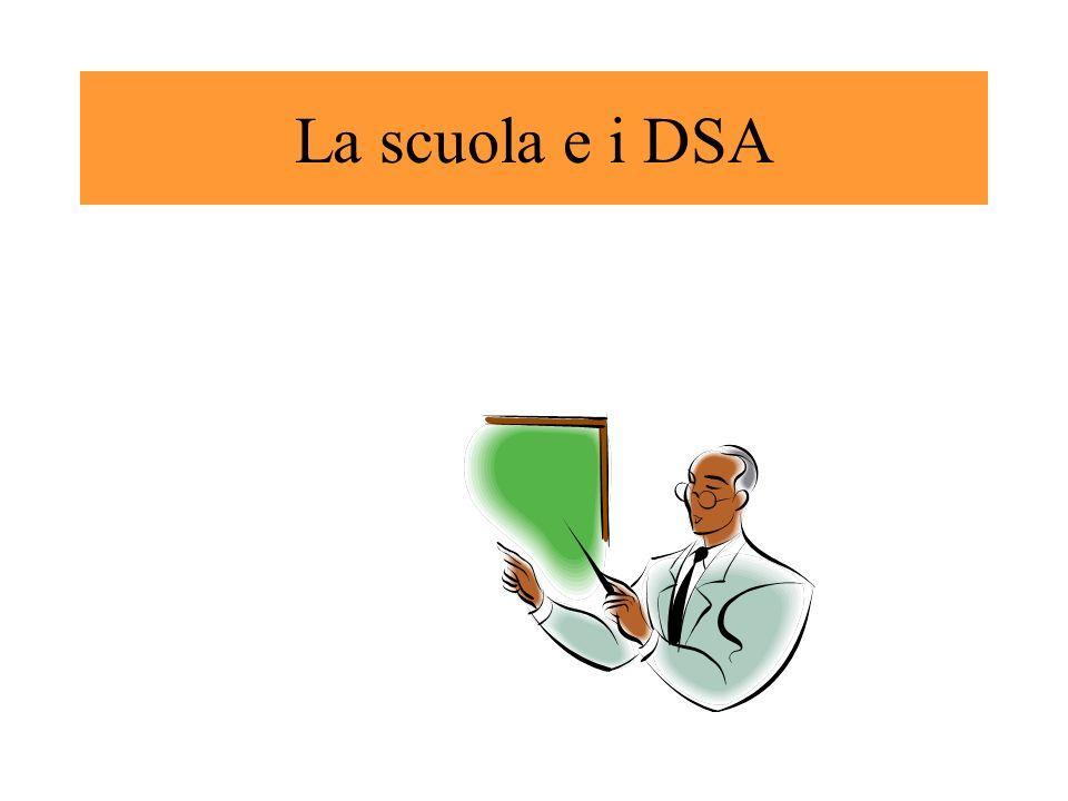 La scuola e i DSA