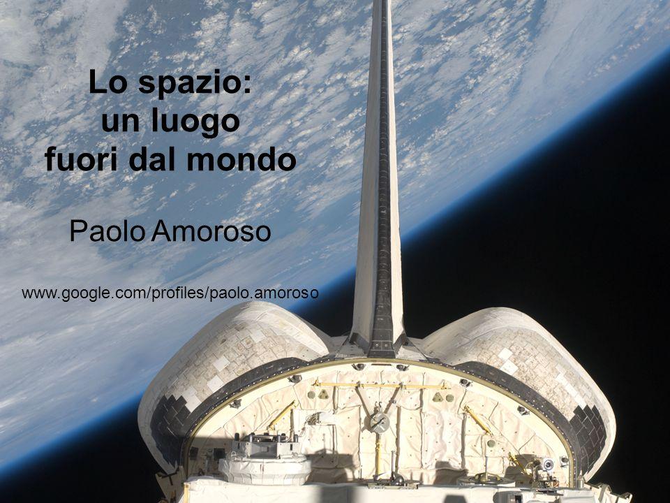 Lo spazio: un luogo fuori dal mondo