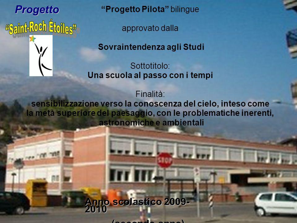 Saint-Roch Étoiles Progetto Anno scolastico 2009-2010