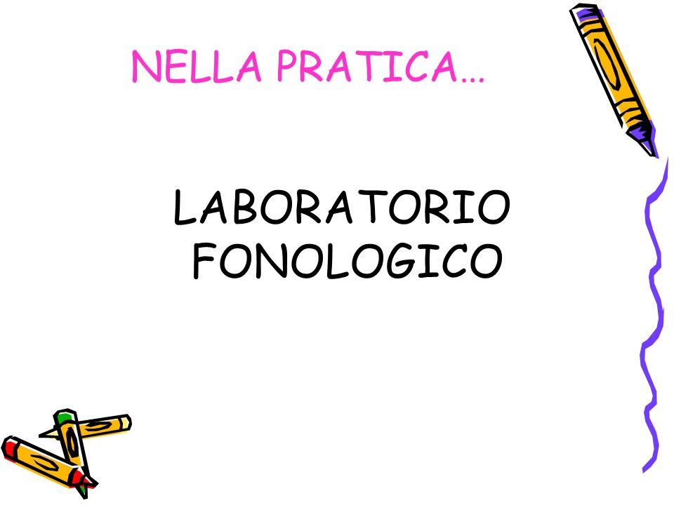 LABORATORIO FONOLOGICO