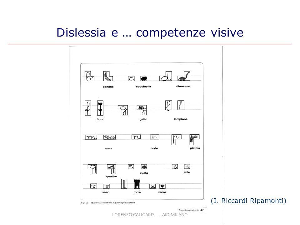 Dislessia e … competenze visive