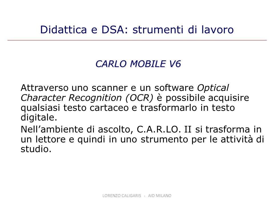 Didattica e DSA: strumenti di lavoro