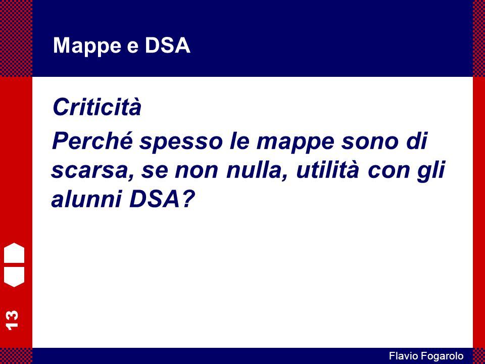 Mappe e DSA Criticità.