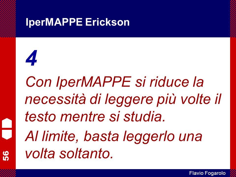IperMAPPE Erickson 4. Con IperMAPPE si riduce la necessità di leggere più volte il testo mentre si studia.