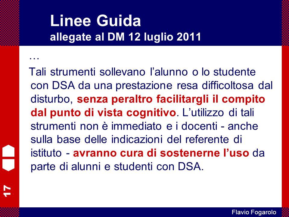 Linee Guida allegate al DM 12 luglio 2011