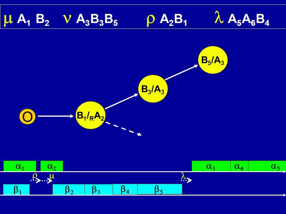 m A1 B2 n A3B3B5 r A2B1 l A5A6B4 O B5/A3 B3/A3 B1/RA2 a1 a2 a3 a4 a5 r