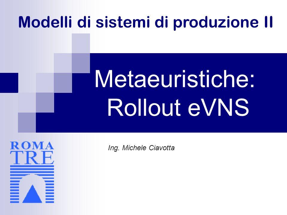 Modelli di sistemi di produzione II