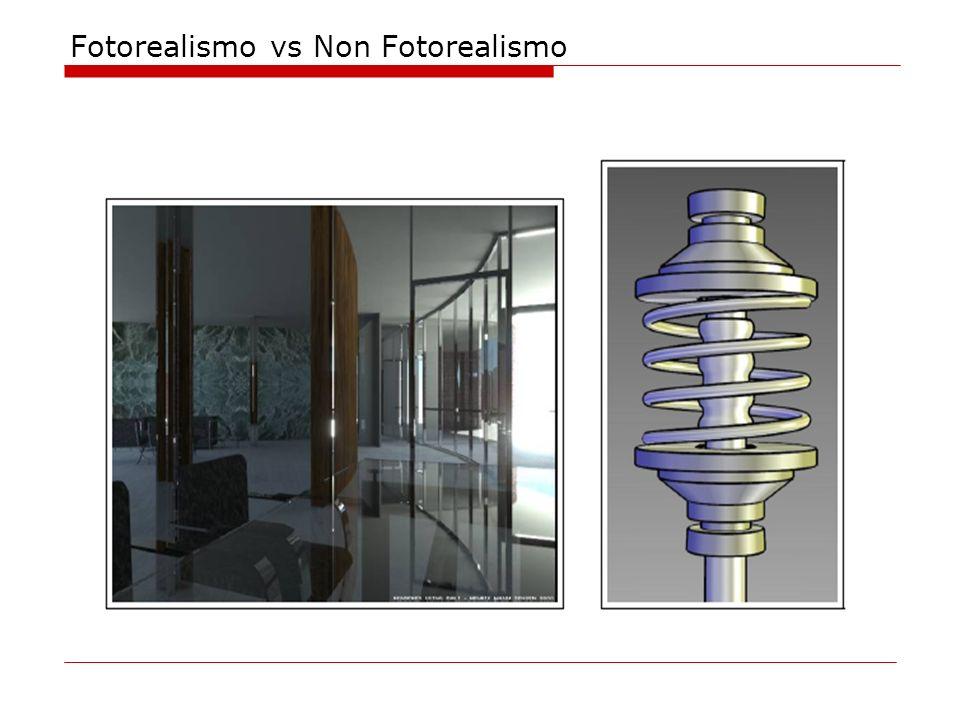 Fotorealismo vs Non Fotorealismo