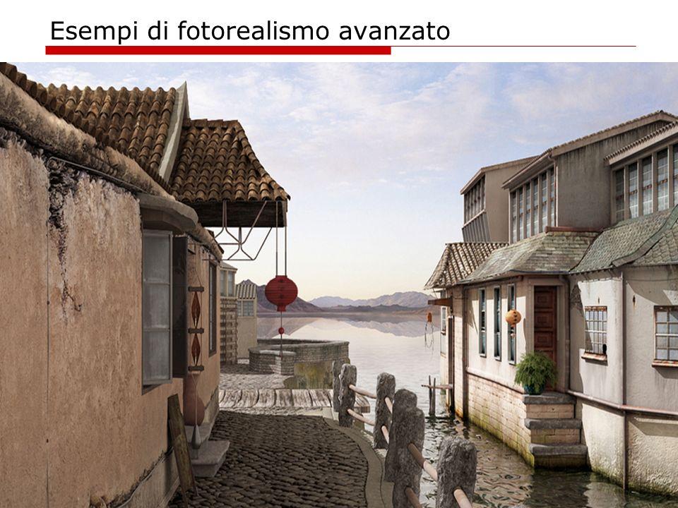 Esempi di fotorealismo avanzato