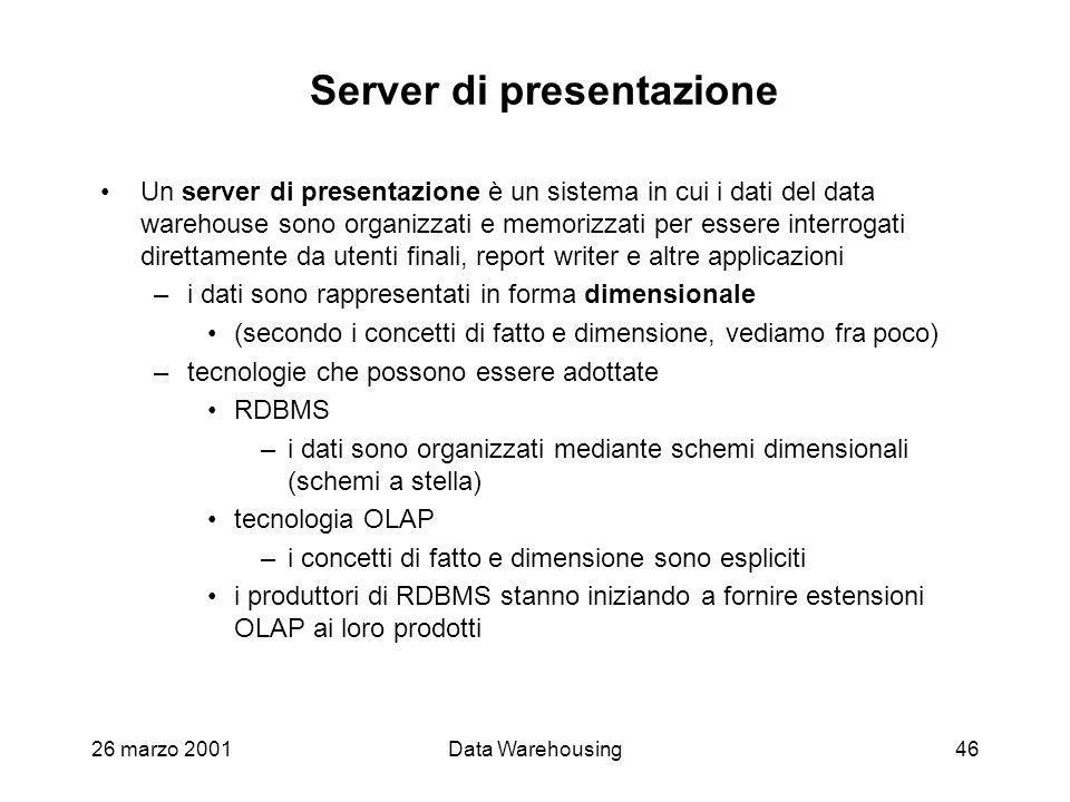 Server di presentazione