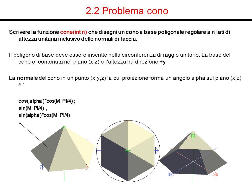 2.2 Problema cono