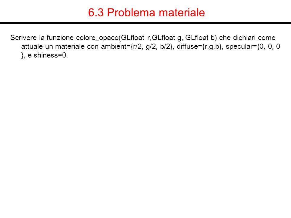 6.3 Problema materiale
