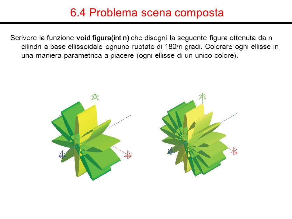 6.4 Problema scena composta