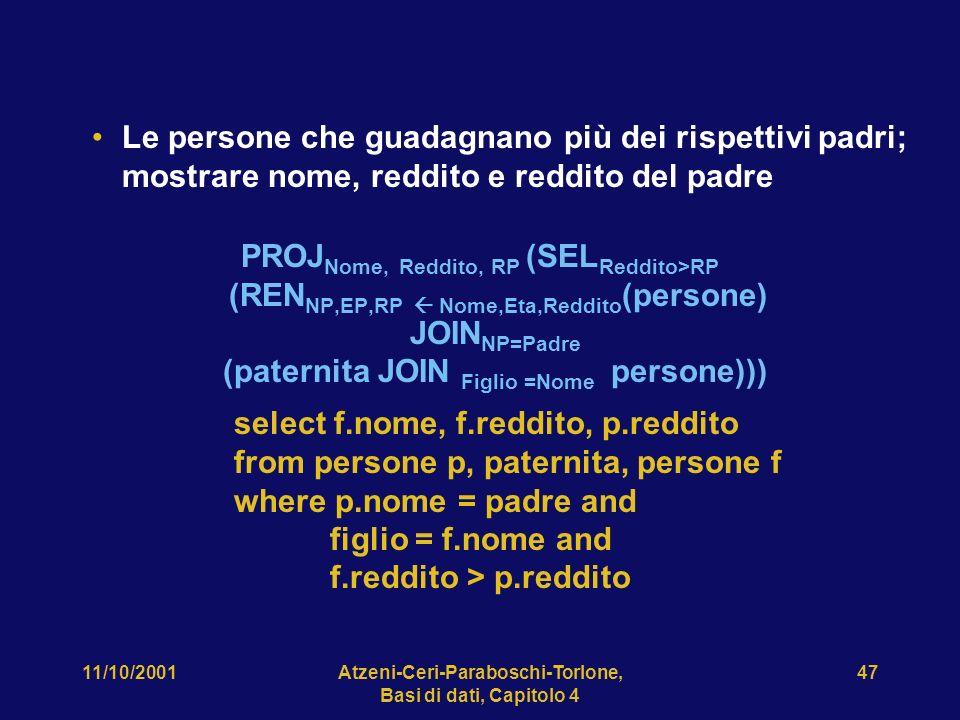 Atzeni-Ceri-Paraboschi-Torlone, Basi di dati, Capitolo 4