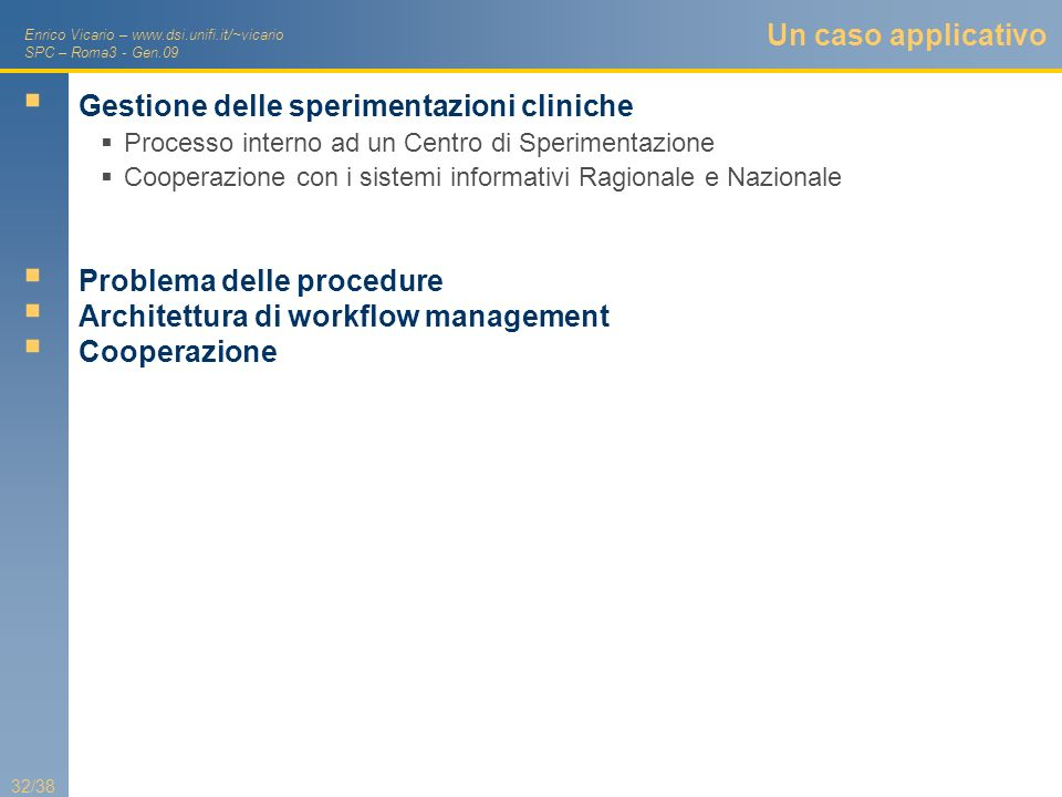 Gestione delle sperimentazioni cliniche