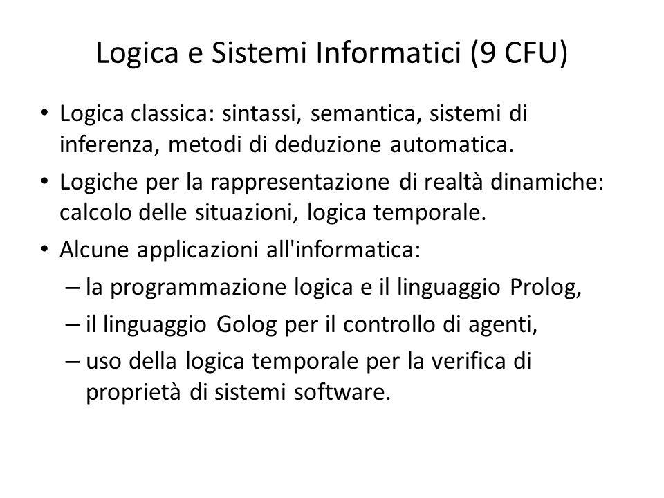 Logica e Sistemi Informatici (9 CFU)
