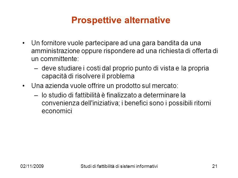 Prospettive alternative