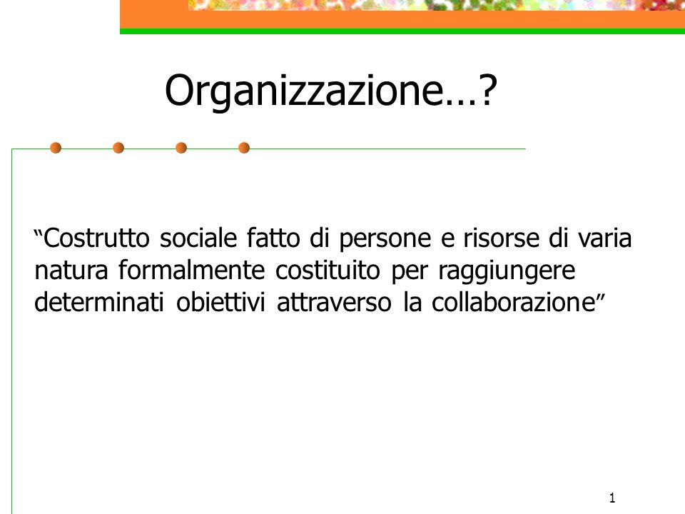 Organizzazione…