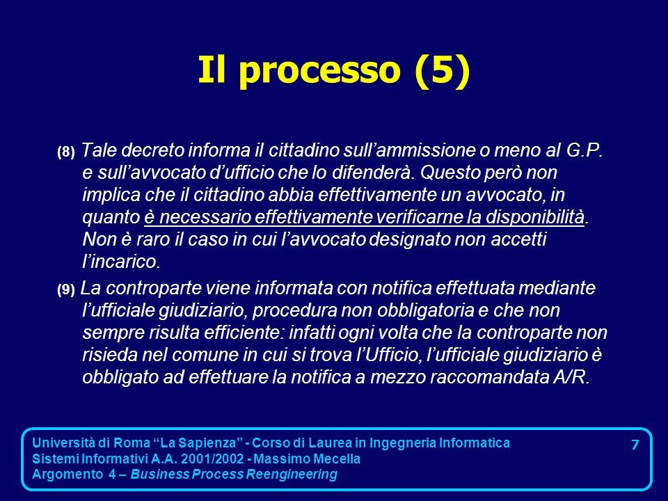 Il processo (5)