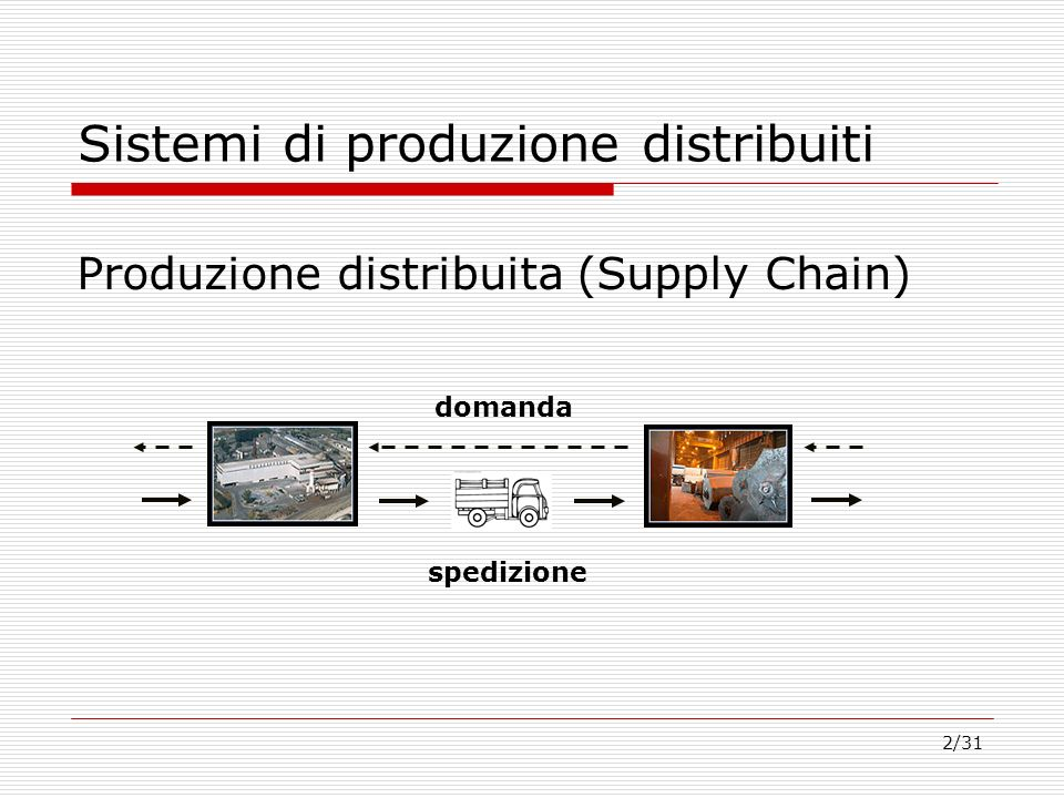 Sistemi di produzione distribuiti