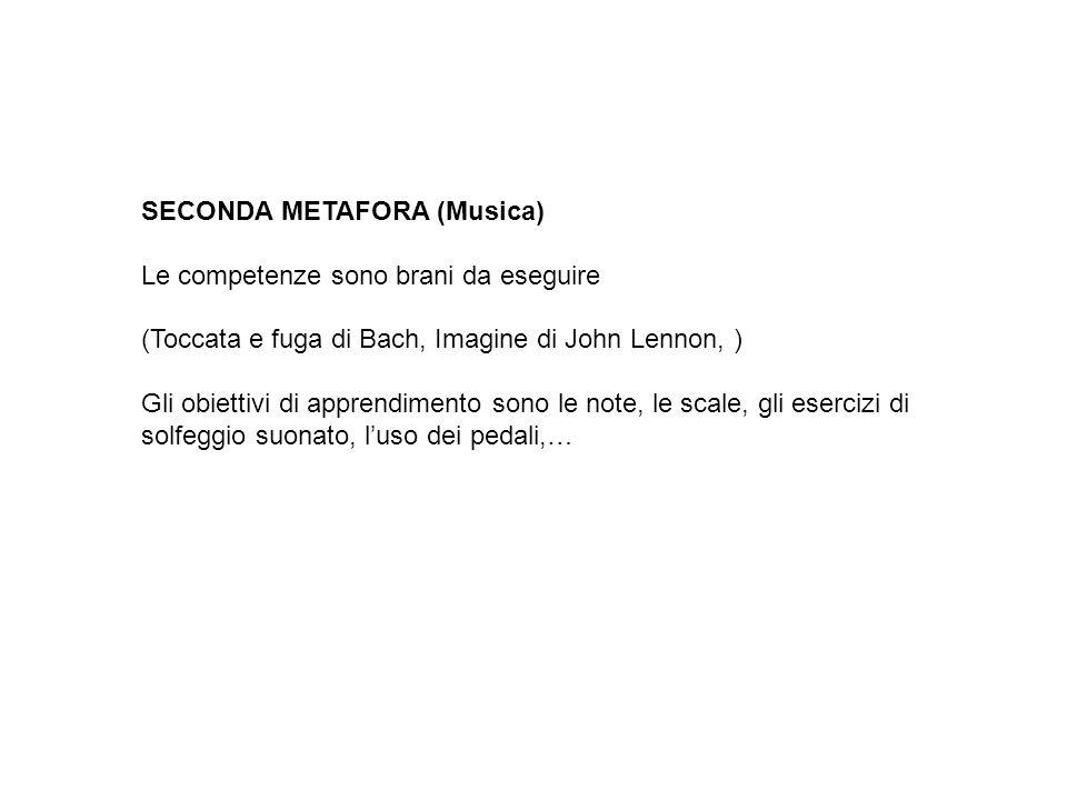 SECONDA METAFORA (Musica)