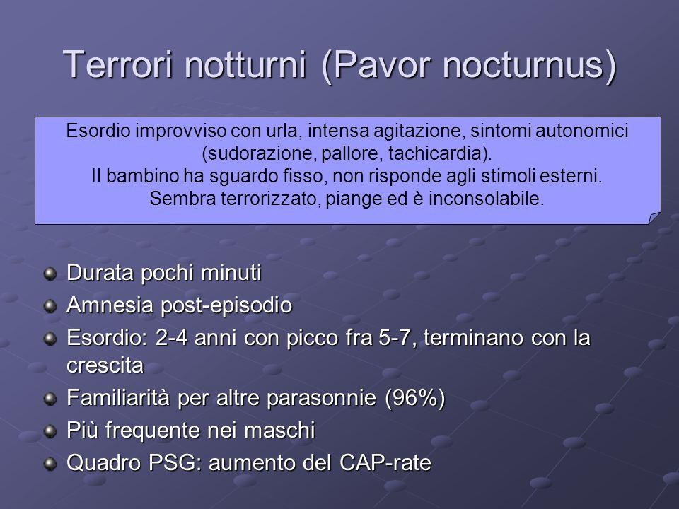 Terrori notturni (Pavor nocturnus)