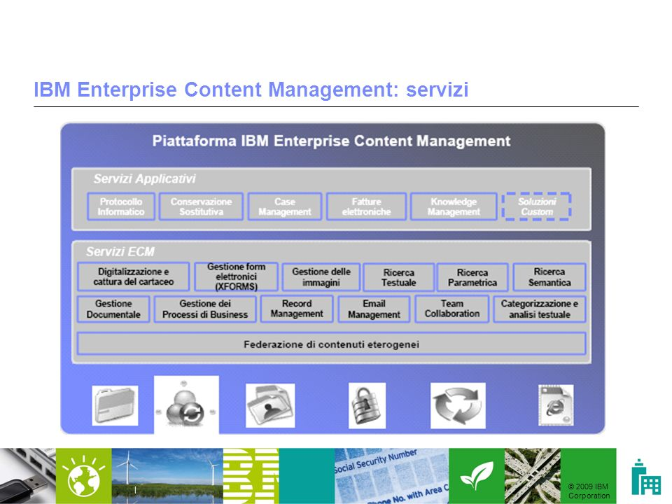 IBM Enterprise Content Management: servizi