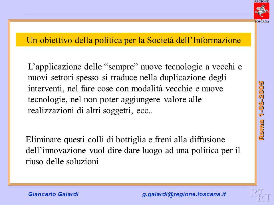 Un obiettivo della politica per la Società dell'Informazione
