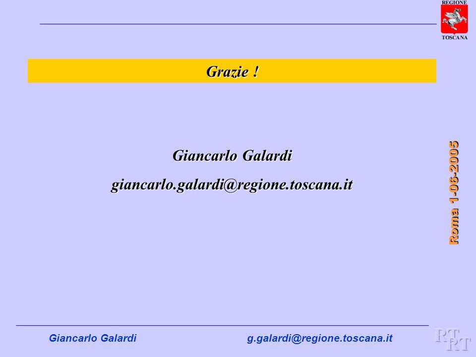RT RT Grazie ! Giancarlo Galardi giancarlo.galardi@regione.toscana.it