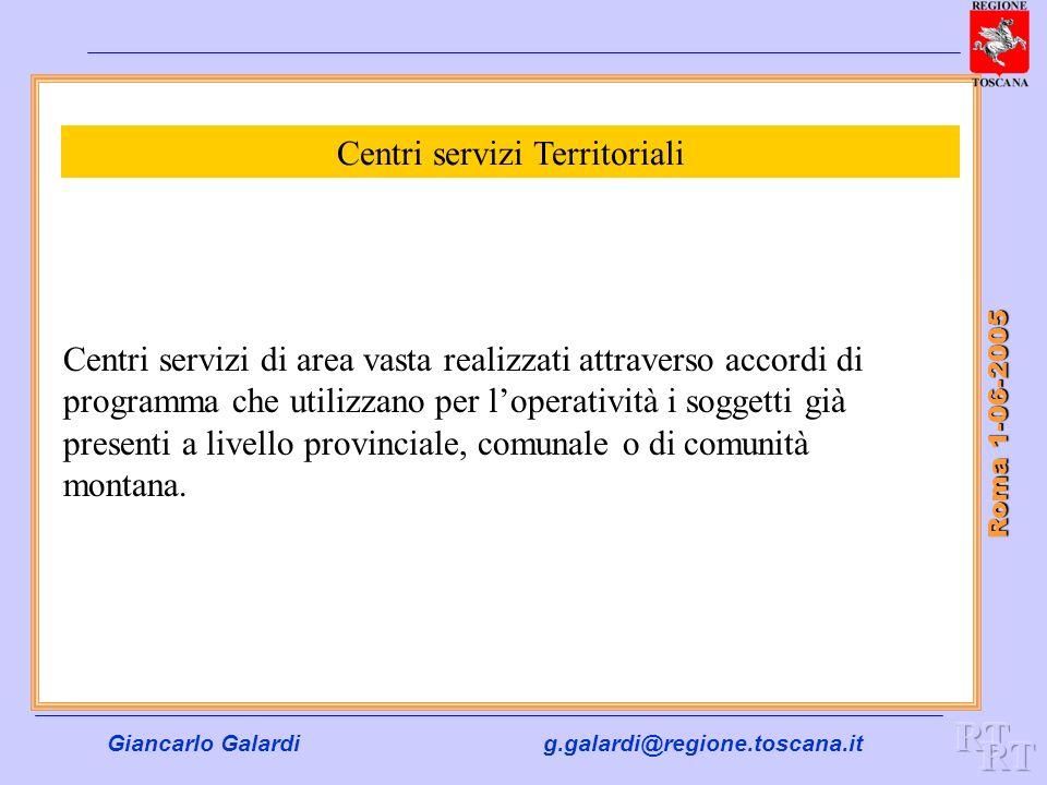Centri servizi Territoriali