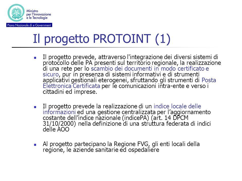 Il progetto PROTOINT (1)