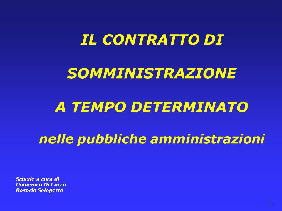 nelle pubbliche amministrazioni