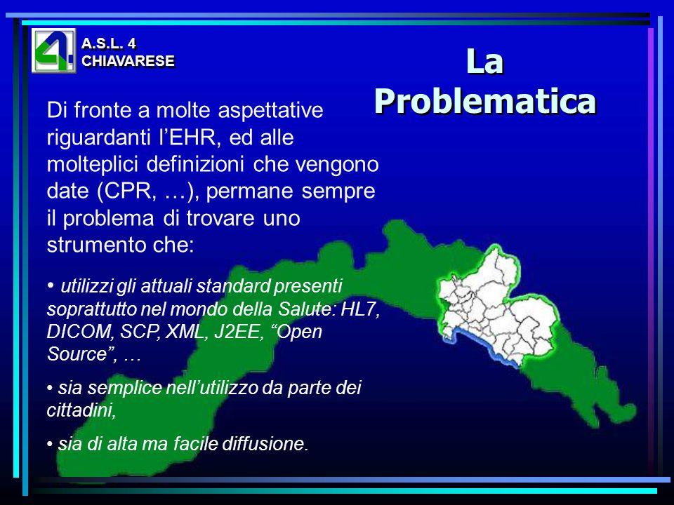 A.S.L. 4CHIAVARESE. La Problematica.