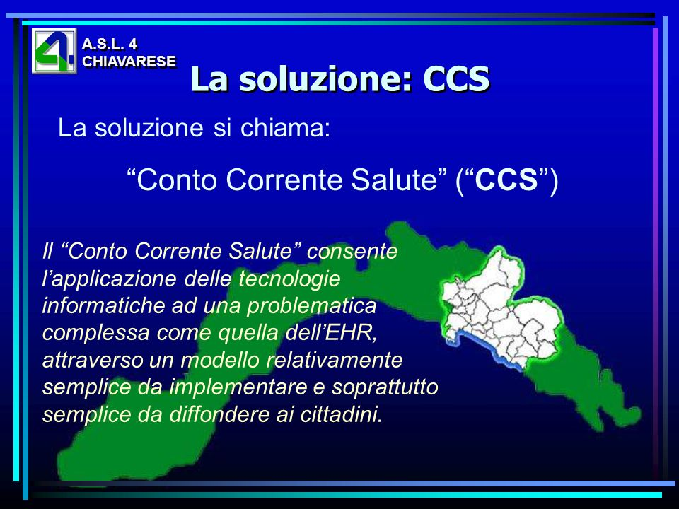 Conto Corrente Salute ( CCS )