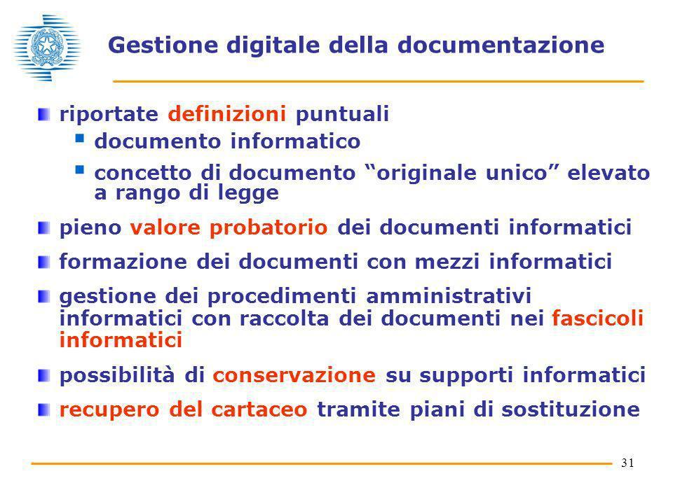 Gestione digitale della documentazione