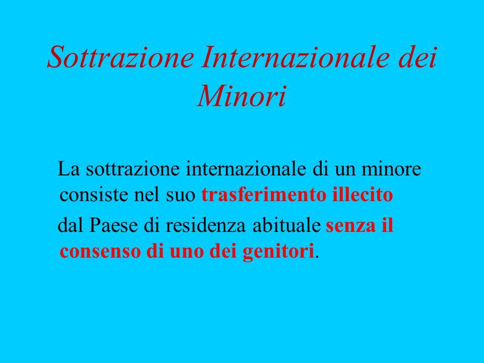 Sottrazione Internazionale dei Minori