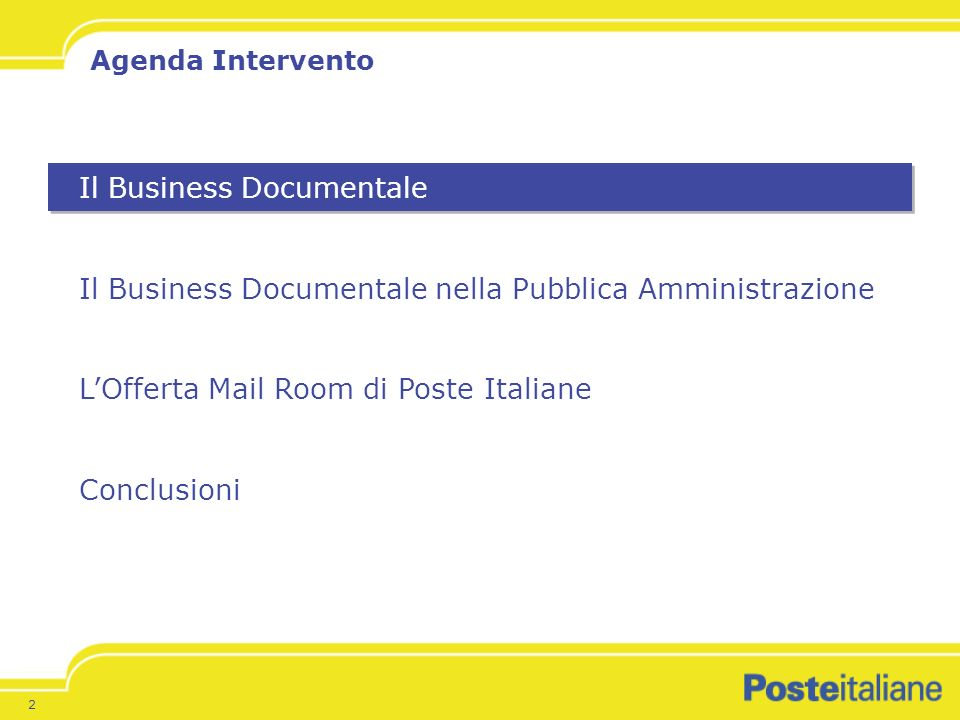 Il Business Documentale