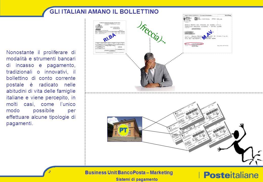 GLI ITALIANI AMANO IL BOLLETTINO