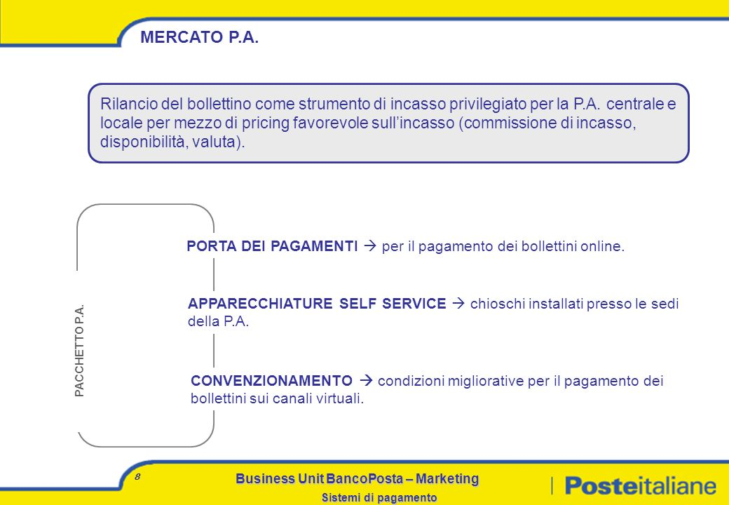 MERCATO P.A.