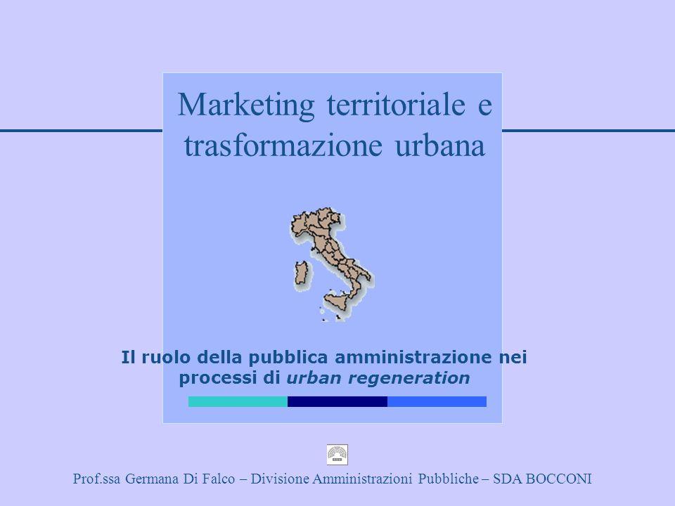 Marketing territoriale e trasformazione urbana