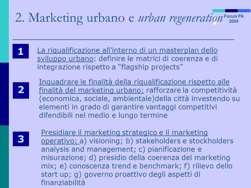 2. Marketing urbano e urban regeneration