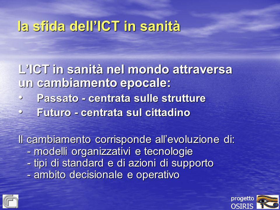 la sfida dell'ICT in sanità