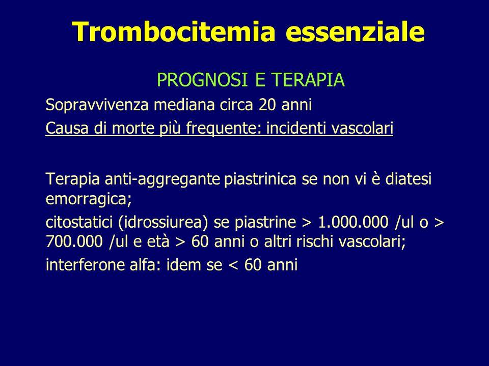 Trombocitemia essenziale