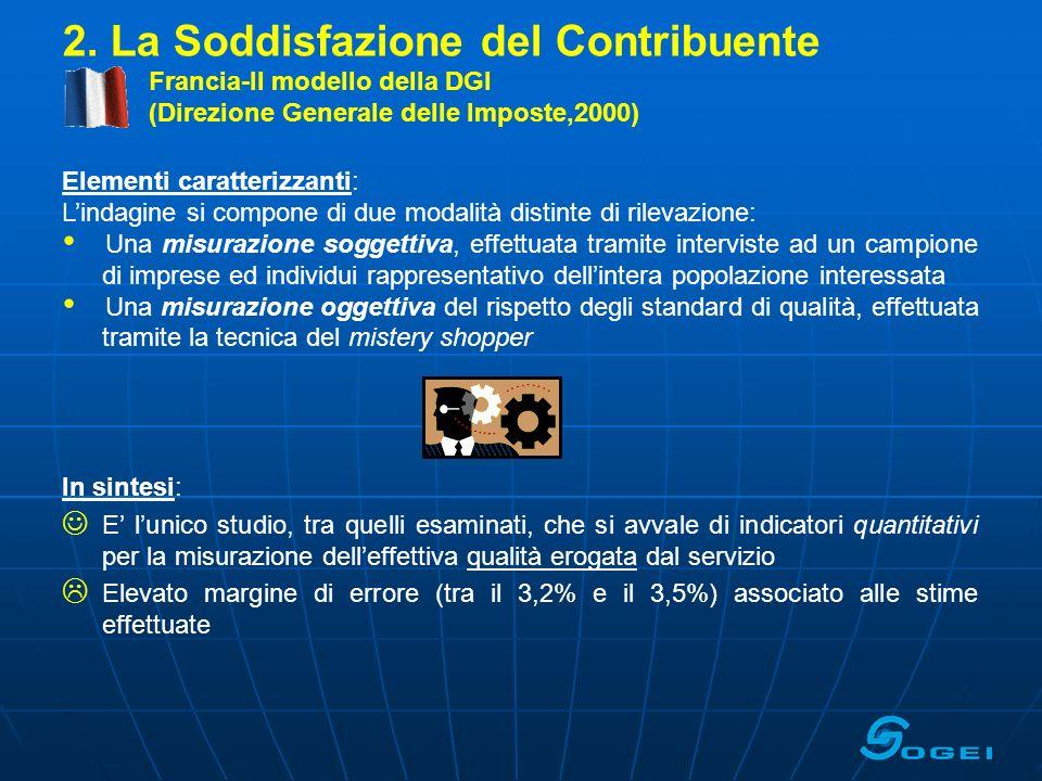 2. La Soddisfazione del Contribuente