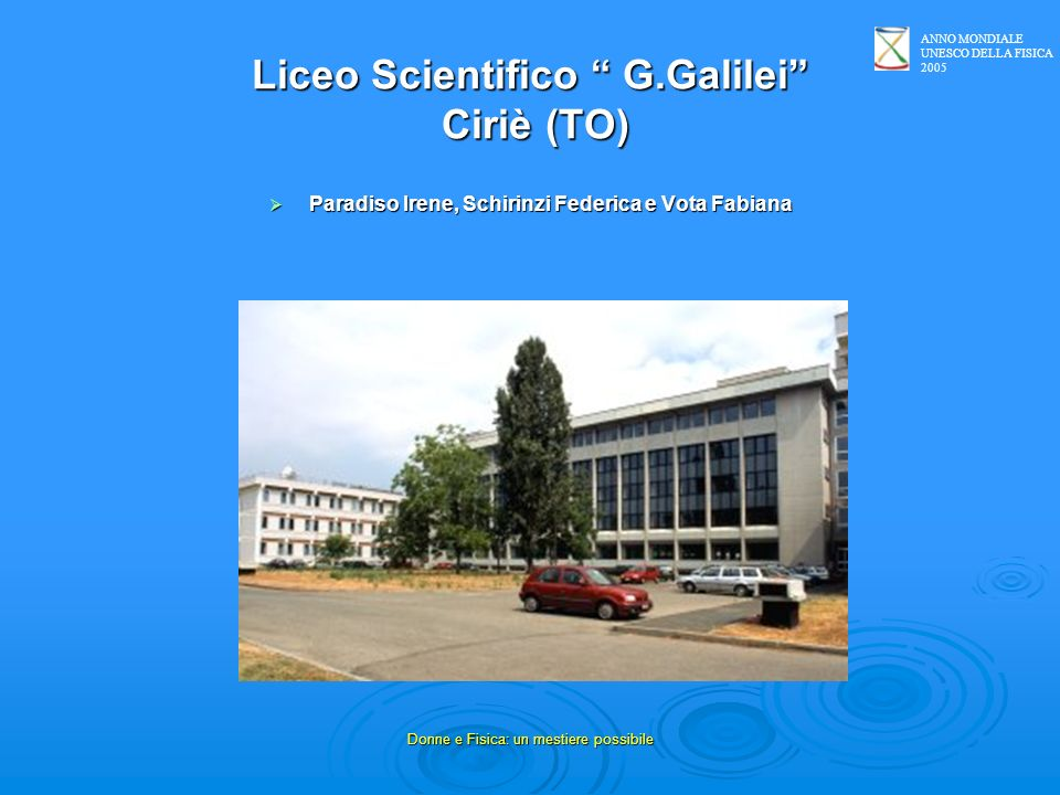 Liceo Scientifico G.Galilei Ciriè (TO)