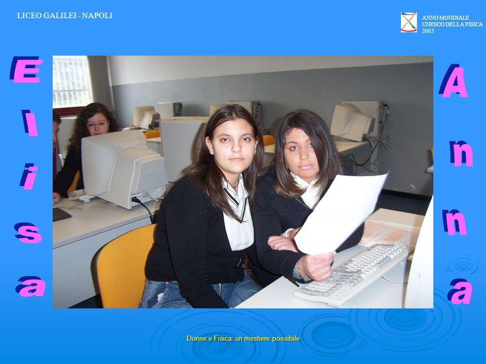 Donne e Fisica: un mestiere possibile