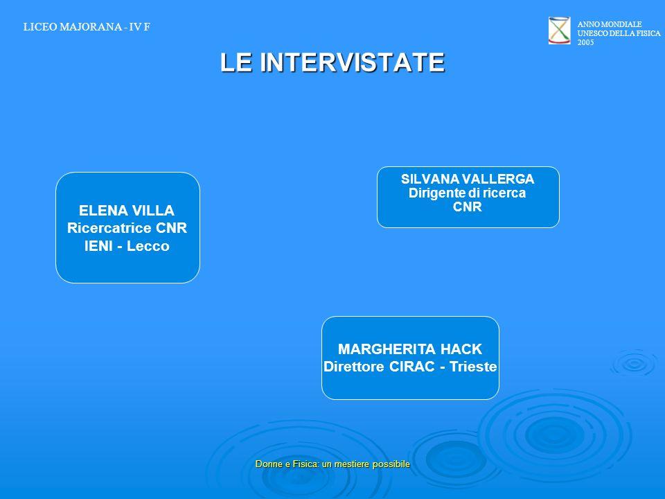 Direttore CIRAC - Trieste
