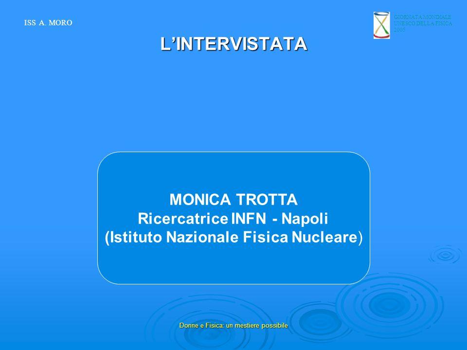 Ricercatrice INFN - Napoli