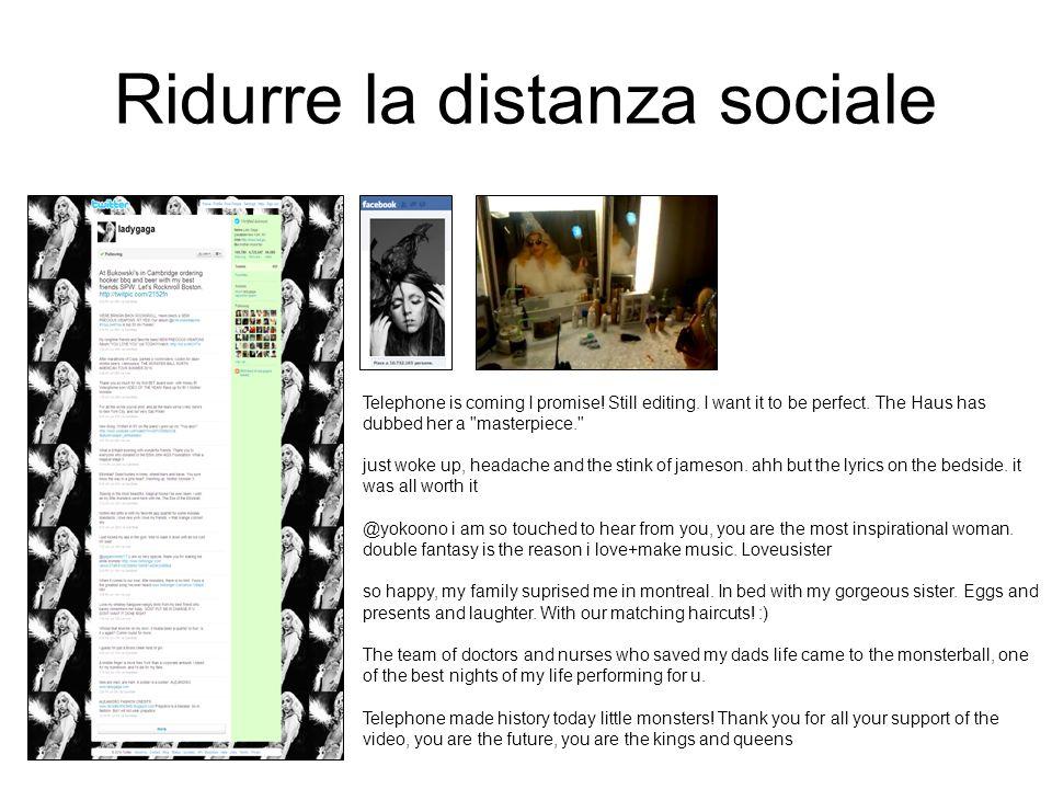 Ridurre la distanza sociale